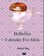 Ballerina Calendar for Girls