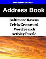 Address Book Baltimore Ravens Trivia Crossword & Wordsearch Activity Puzzle