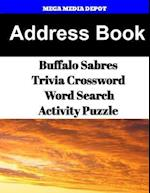 Address Book Buffalo Sabres Trivia Crossword & Wordsearch Activity Puzzle