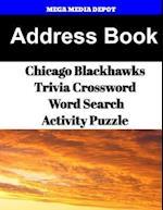 Address Book Chicago Blackhawks Trivia Crossword & Wordsearch Activity Puzzle