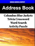Address Book Columbus Blue Jackets Trivia Crossword & Wordsearch Activity Puzzle