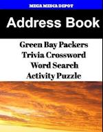 Address Book Green Bay Packers Trivia Crossword & Wordsearch Activity Puzzle