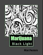 Marijuana Black Light Mini Posters