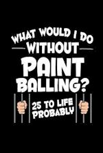 What Would I Do Without Paint Balling? 25 to Life Probably