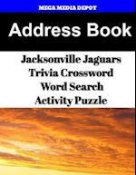 Address Book Jacksonville Jaguars Trivia Crossword & Wordsearch Activity Puzzle