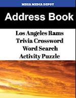 Address Book Los Angeles Rams Trivia Crossword & Wordsearch Activity Puzzle