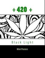 420 Black Light Mini Posters