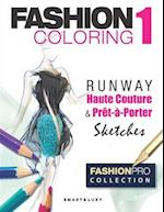 Fashion Coloring, Runway
