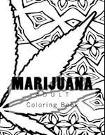 Marijuana Adult Coloring Book