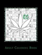 420 Adult Coloring Book