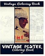 Vintage Poster Coloring Book