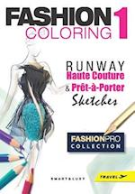 Fashion Coloring, Runway - Travel Size