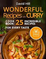 Wonderful Recipes with Curry. (Full Color)