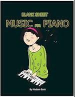 Blank Sheet Music for Piano