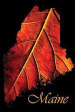 Journal Maine Fall Foliage Leaf