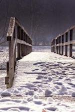 A Snow-Covered Wooden Bridge Journal