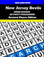 New Jersey Devils Word Search Activity Puzzle Book Greatest Players Edition