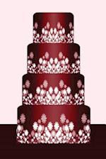 Wedding Journal Red Wedding Cake