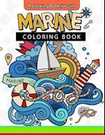 Marine Coloring Book