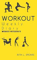 The Workout Weekly Diary Workout Notebook10