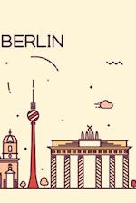 Berlin Notebook & Journal. Productivity Work Planner & Idea Notepad