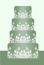 Wedding Journal Green Wedding Cake