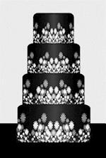 Wedding Journal Black White Wedding Cake