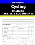Cycling Exercise Activity Log Journal