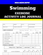 Swimming Exercise Activity Log Journal