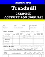 Treadmill Exercise Activity Log Journal