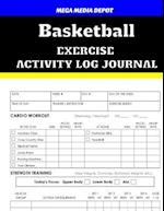 Basketball Exercise Activity Log Journal