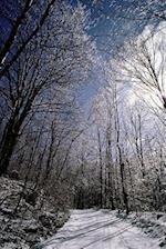 Journal Snowy Winter Path