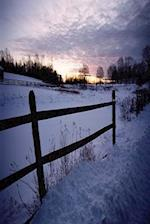 Journal Snowy Winter Fence