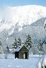 Journal Mountain Cabin in the Snow