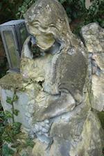 Weathered Antique Loving Angel Sculpture Journal
