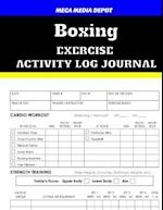 Boxing Exercise Activity Log Journal
