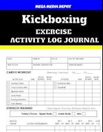 Kickboxing Exercise Activity Log Journal