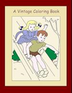 A Vintage Coloring Book (Volume 2)