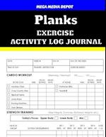 Planks Exercise Activity Log Journal