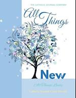 All Things New All Things Lovely Catholic Journal Color Doodle