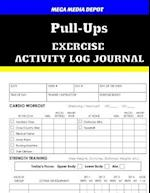 Pull-Ups Exercise Activity Log Journal