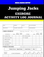 Jumping Jacks Exercise Activity Log Journal