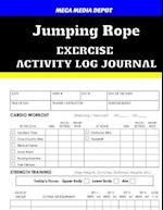 Jumping Rope Exercise Activity Log Journal