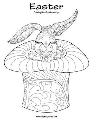 Easter Coloring Book for Grown-Ups 1