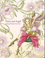 Fairies and Angels Coloring Book for Grown-Ups 1