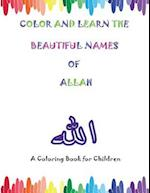 Color and Learn the Beautiful Names of Allah