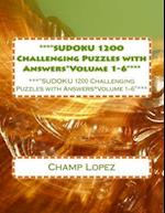 ***Sudoku 1200 Challenging Puzzles with Answers*volume 1-6***
