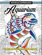 Aquarium Ocean Coloring Book for Adults