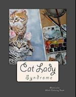 Cat Lady Syndrome Watercolor