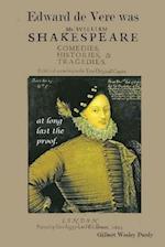 Edward de Vere Was Shake-Speare